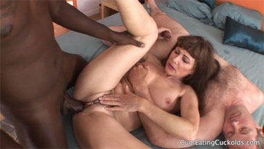 Thank for Interracial husband humiliation