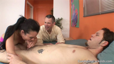 Asia levy cuckold husband has to watch