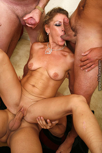 Shaved pussy milf fucked hard