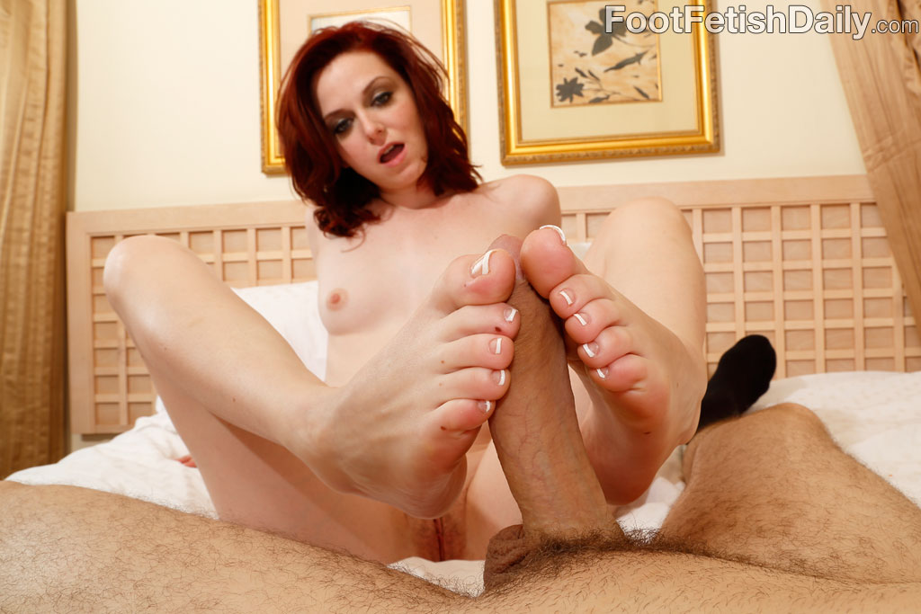 That watch her video footjob and blowjob with