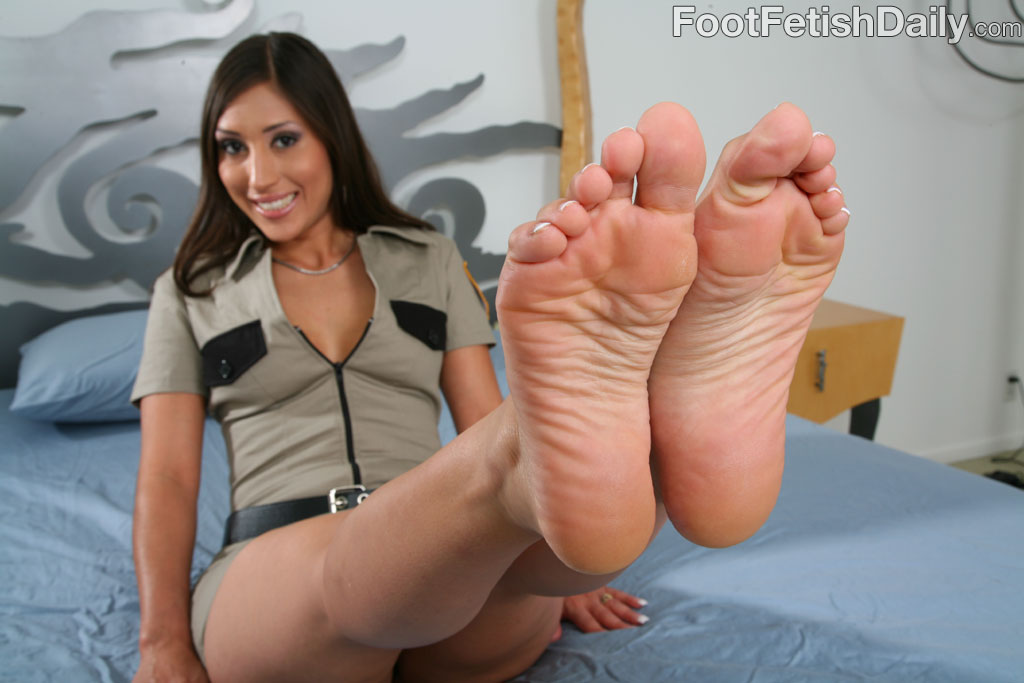 Latina alexis breeze foot fetish