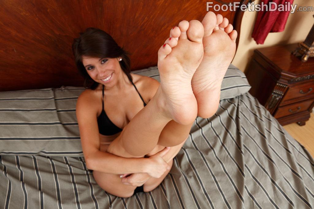 Feet handjob stockings fetish movies