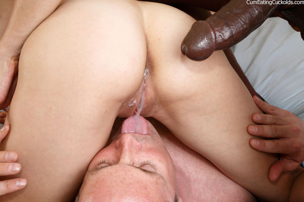 Wife forced to fuck interracial
